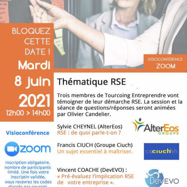 Tourcoing Entreprendre - Témoignage RSE 8 Juin 2021