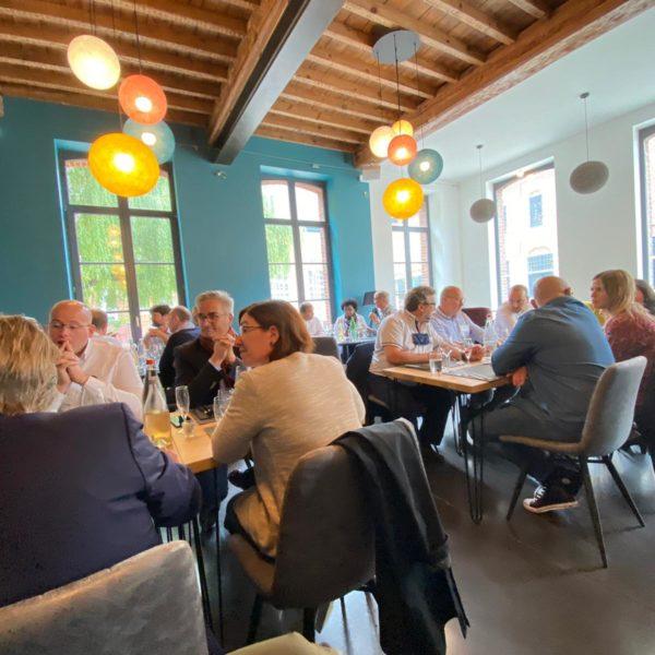 Tourcoing Entreprendre - déjeuner au paradoxe à Tourcoing